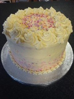 Lovingly made by Wee Happy Cakery